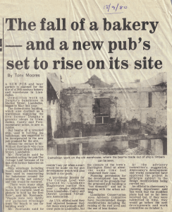 Newspaper Article from 1980 website