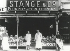 Stange and Co at 109 Mostyn Street Llandudno Clifford Townley married to Williams sister Maria a shop assistant William Isaiah Rowlands and his younger brother Robin